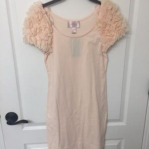 H&M Ruffle Shoulder Dress